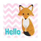 Woodland Greetings I Prints by  SD Graphics Studio