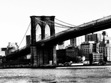 Bridge of Brooklyn BW Photographic Print by  Acosta