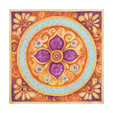 Pink Medallion II Posters by Janice Gaynor