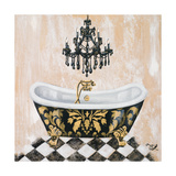 Opulance Bath II Prints by Tiffany Hakimipour