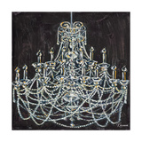 Chandelier I Lámina giclée premium por Heather French-Roussia