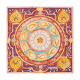 Pink Medallion I Posters by Janice Gaynor