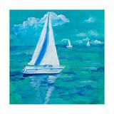 Regatta Winds I Premium Giclee Print by Robin Maria