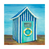 Beach Cabana II Premium Giclee Print by Patricia Quintero-Pinto