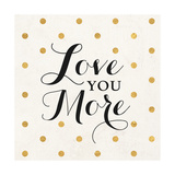 Love Words Black I Premium Giclee Print by  SD Graphics Studio