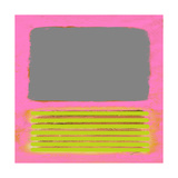 Pink Metamorphosis Kunstdruck von Patricia Pinto