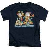 Juvenile: Garfield- Bright Holidays T-shirts