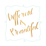 Beautiful and Smile I Premium Giclee Print by  SD Graphics Studio