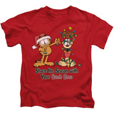 Juvenile: Garfield- Share The Season T-shirts