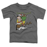 Toddler: Betty Boop- Chimney T-shirts