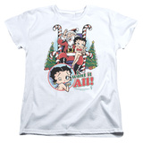 Womans: Betty Boop- I Want It All T-Shirt