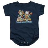 Infant: Garfield- Bright Holidays Onesie Infant Onesie