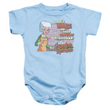 Infant: Grandma Got Run Over By A Reindeer- Fruitcake Threat Onesie Infant Onesie