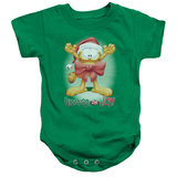 Infant: Garfield- Unwrap The Joy! Onesie Infant Onesie