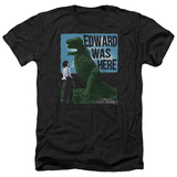 Edward Scissorhands- Edward Was Here T-shirts