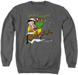 Crewneck Sweatshirt: Betty Boop- Chimney T-shirts