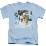 Juvenile: Garfield- Snow Fun Shirts
