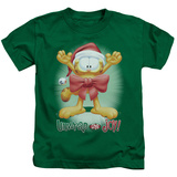 Juvenile: Garfield- Unwrap The Joy! Shirt