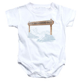 Infant: Its A Wonderful Life- Bedford Falls Onesie Infant Onesie