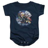 Infant: Garfield- Moonlight Ride Onesie Infant Onesie
