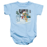 Infant: Garfield- Snow Fun Onesie Infant Onesie