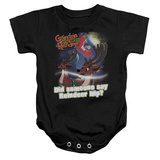 Infant: Grandma Got Run Over By A Reindeer- Reindeer Nip Onesie Infant Onesie