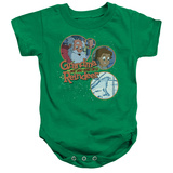 Infant: Grandma Got Run Over By A Reindeer- Santa And Family Onesie Infant Onesie