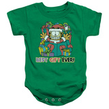 Infant: Garfield- Best Gift Ever Onesie Infant Onesie