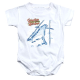 Infant: Grandma Got Run Over By A Reindeer- Grandma Was Here Onesie Infant Onesie