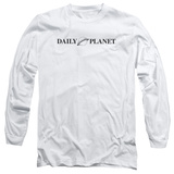 Long Sleeve: Superman- Daily Planet Logo Long Sleeves