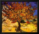 The Mulberry Tree, c. 1889 Billeder af Vincent van Gogh