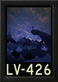 LV-426 Retro Travel Poster Posters
