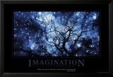 Fantasi, på engelsk Plakater