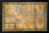 The Hobbit - Desolation of Smaug Map of the Shire Posters