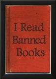 I Read Banned Books Poster Print Reprodukcje