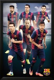 Barcelona - Players 14/15 Affiches