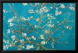 Amandier en fleurs, 1890 Affiche par Vincent van Gogh