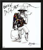 Angst en walging, Fear and Loathing in Las Vegas Print van Ralph Steadman