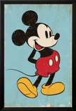 Mickey Mouse - Retro Plakát
