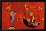 Mit Und Gegen Kunstdrucke von Wassily Kandinsky