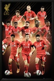 Liverpool- Players 15/16 Prints