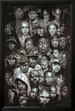 Rap Gods (Rapper Collage) Music Poster Print Posters