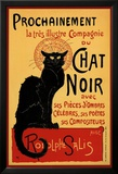 Vintage poster van Zwarte kat: Chat Noir, ca.1896 Posters