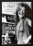 Janis Joplin Planning a Party Music Poster Print Posters