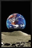 Earth From The Moon Posters