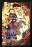 Gustav Klimt Virgin Art Print Poster Prints by Gustav Klimt
