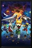 Star Fox 64- Charging Characters Prints