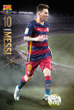 Barcelona- Messi Action 15/16 Posters