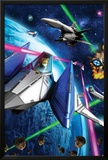 Star Fox 64- Space Battle Posters