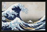 The Great Wave at Kanagawa (from 36 views of Mount Fuji), c.1829 Poster by Katsushika Hokusai